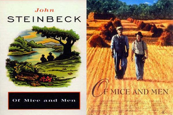 of mice and men book movie Of mice and men, a dramatic story of friendship, dreams that are never to come true and tough men, who seek love and attention in their miserable lives.