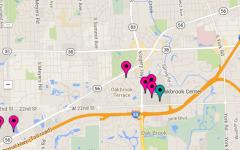 INTERACTIVE MAP:  Homecoming 2014