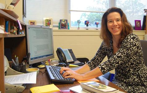 Sarah Johnson, the English and Library Instructional Coach