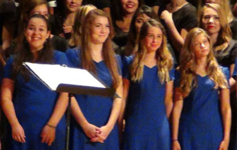 The RB Choir gave its Fall concert on October 2.  The choir is currently fundraising for its trip to Disney World.