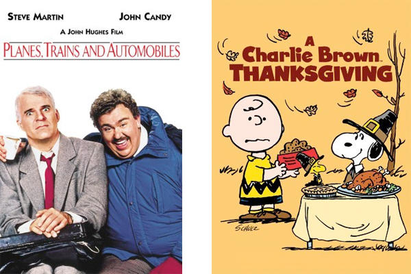 Two Thanksgiving classics starring none other than Steve Martin, John Candy, and Charlie Brown