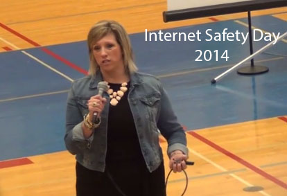 Internet Safety Day took place November 3.  The event is required as part of CIPA, the Child Internet Protection Act.  The school receives federal funding as long as it complies with the act.