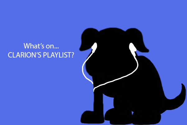 No one can tell what you're hearing when we see you with your headphones on in the hall.  Clarion will kick off this recurring feature by sharing what's on their current playlist.  What's on YOURS?