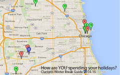 MAP:  How to spend your Winter Break