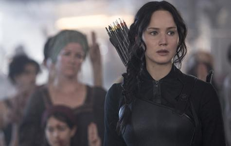Jennifer Lawrence stars in the third installment of the Hunger Games series Mockingjay Part 1, which released Nov. 21