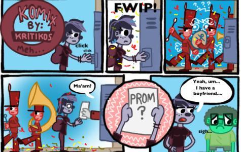 Komix by Kritikos:  Prom?  Ummm... nope.