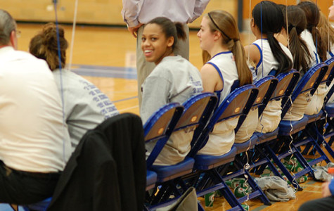 Despite losing star player Janae Dabney to injury, the girls' basketball team still put on a strong performance this season.