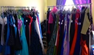 Over 250 dresses have been put together for the RB Boutique.