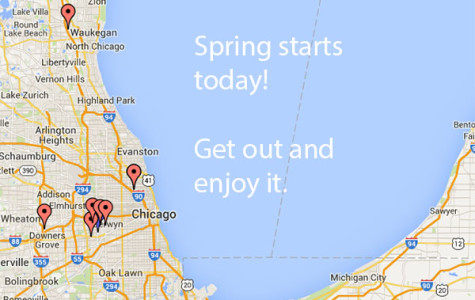Snow is melting and most of us are itching to get outside.  Clarion's Spring map helps you meet the season.