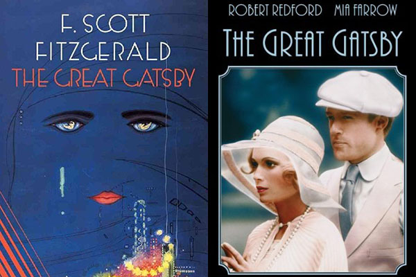 From Book to Film: The Great Gatsby