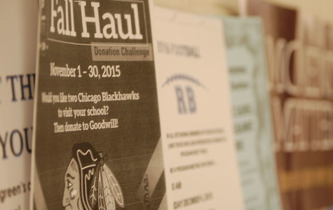 Through the month of November, the Fall Haul helped to collect over ten bags of items for Goodwill.