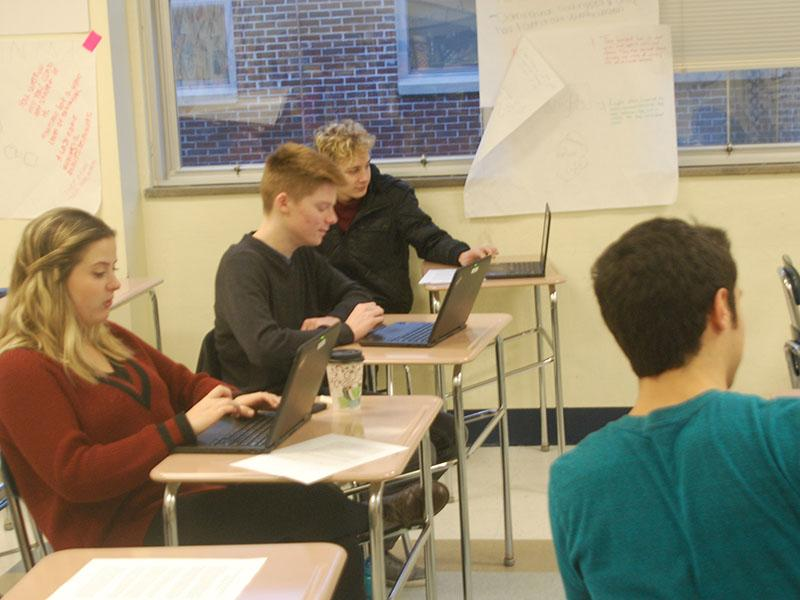 The Model UN works in researching Lisutu.