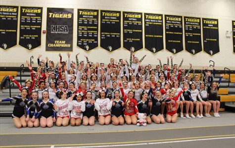 Bulldog Cheer Fights Through Sectionals