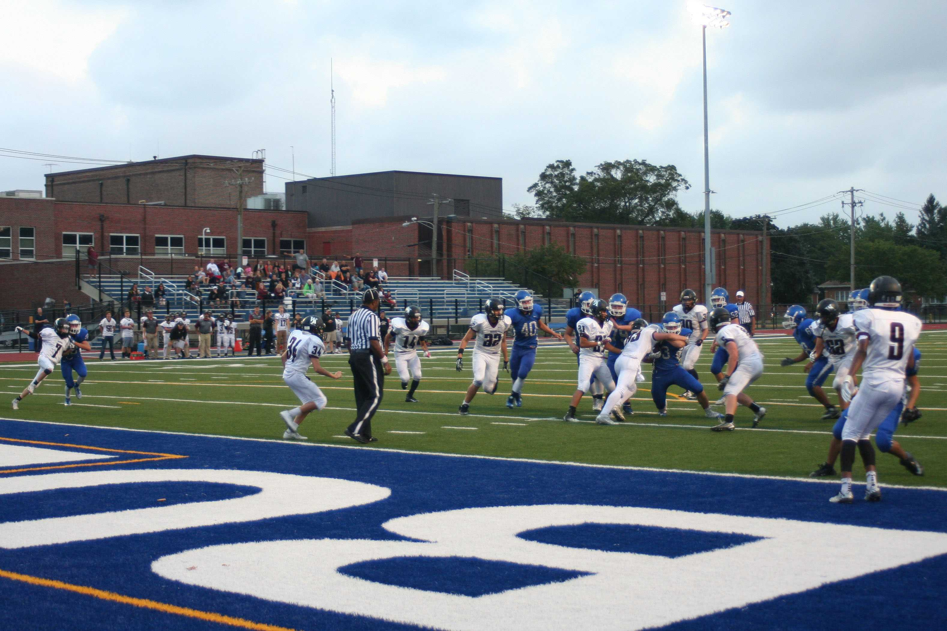 Riverside Brookfield High Schools blows out Wheaton Academy.