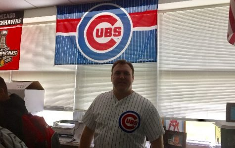 Coach Curby is ready to root for the Cubs to win the 2016 World Series.
