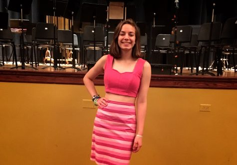Casey Whisler is playing Aphrodite, the Godess of love and beauty.