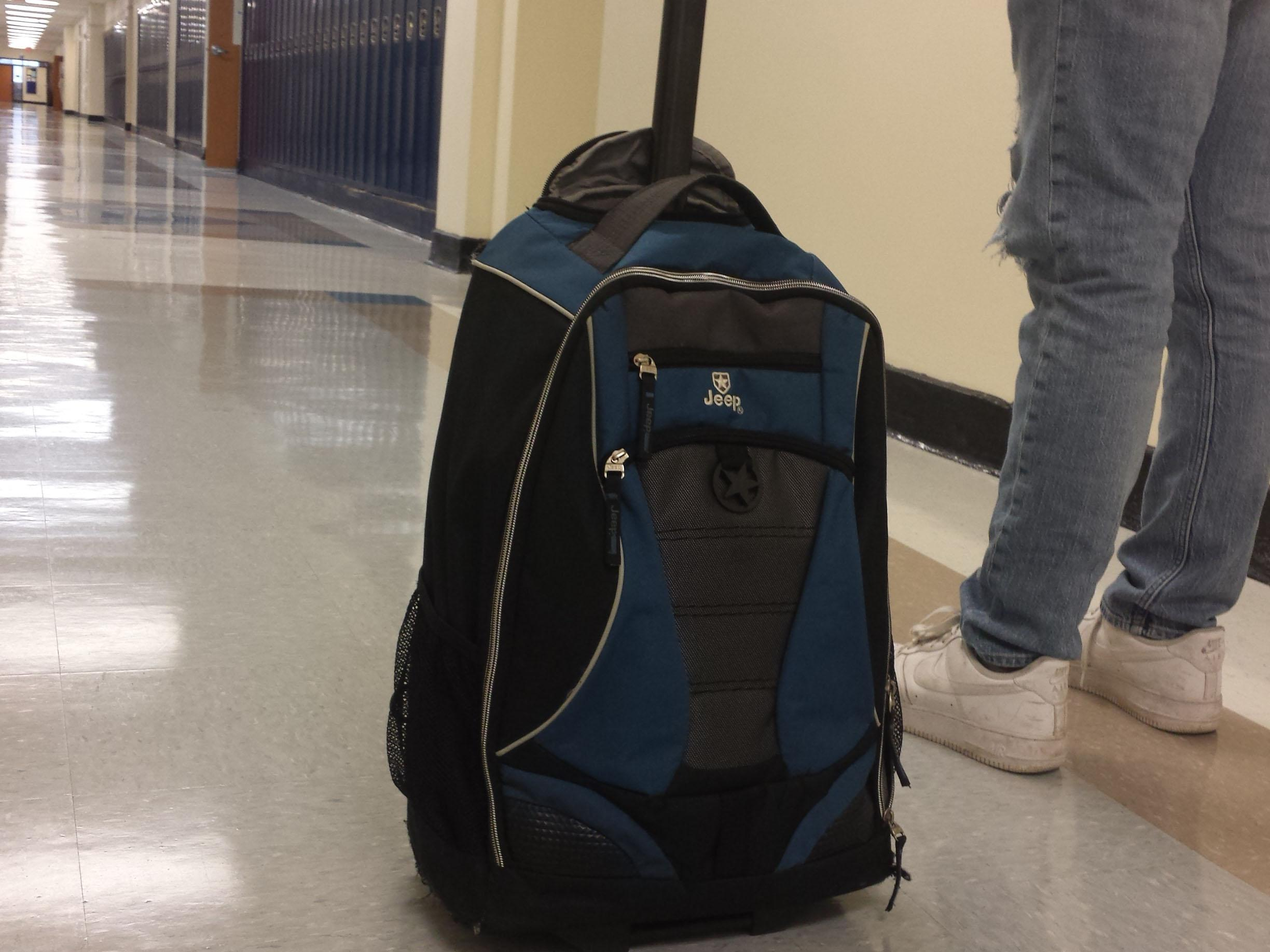 The roller backpack