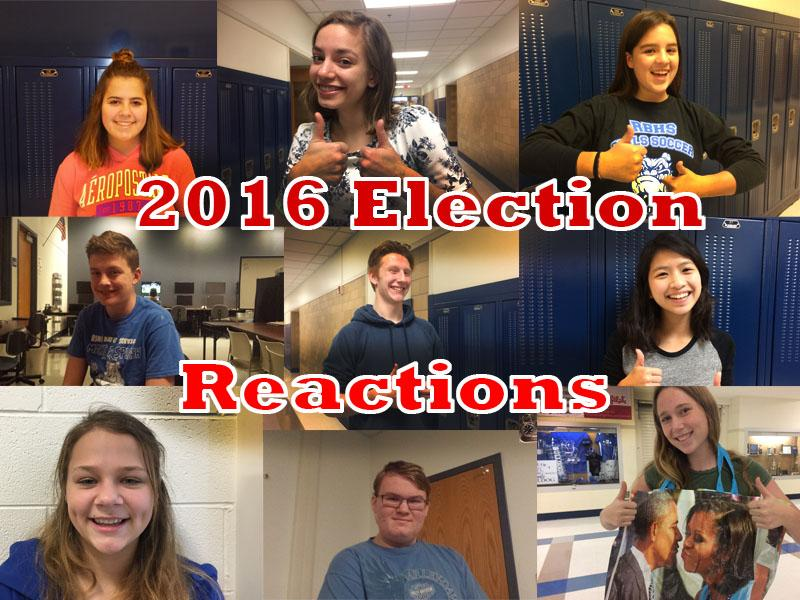 Students+share+with+us+their+reactions+to+the+presidential+election.