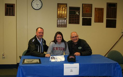 Angelica Melone with her coaches