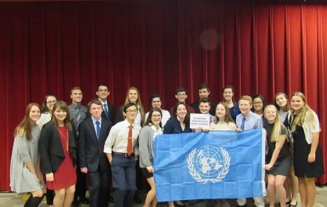 Model UN at their last meeting.