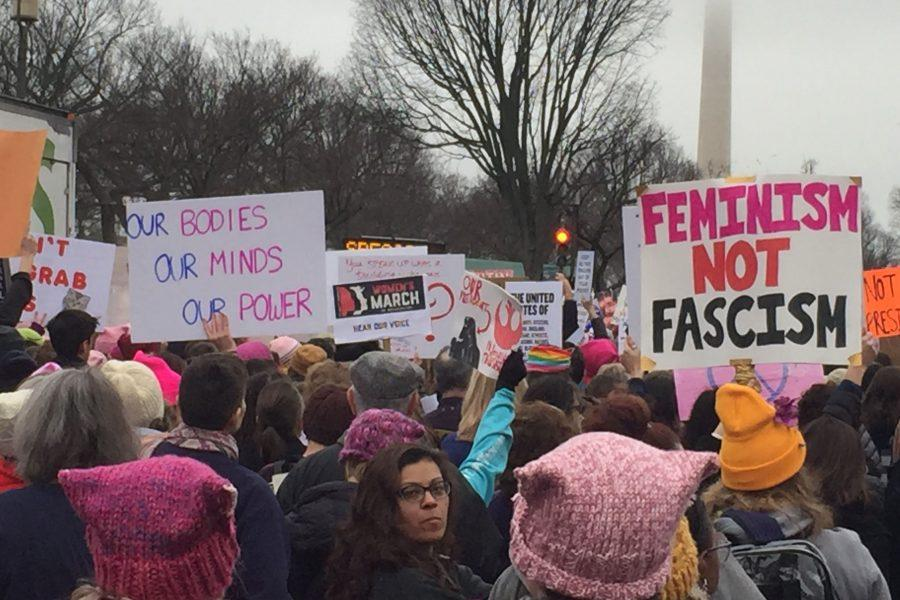 Some support, others marched: RB responds to Womens March