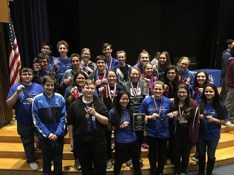 The Math Team after the Lemont Invitational