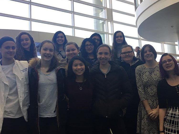 FCCLA at the regional competition held at College of DuPage