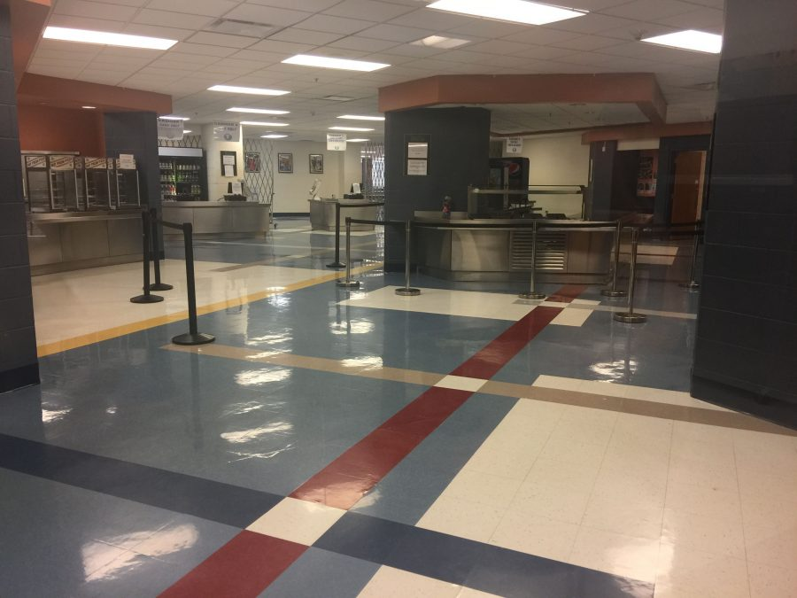 Inside the RB Cafeteria