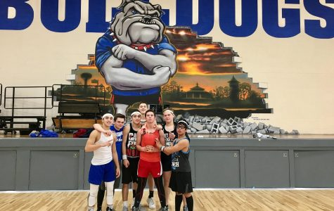 Team Toolbox at the dodgeball tournament.