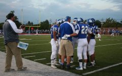 RB Bulldog coaches and players prepare before their game on September 8, 2017.