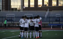Varsity soccer celebrates clutch Homecoming win