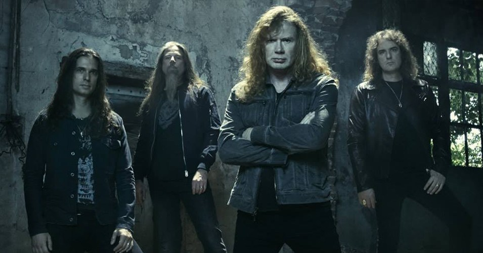 Megadeth 2016.