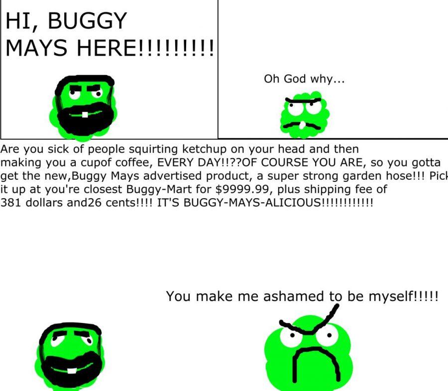 Bizarre Buggies (#7): HI, BUGGY MAYS HERE!