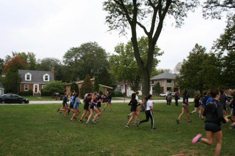 Girls cross country team prepares for conference meet