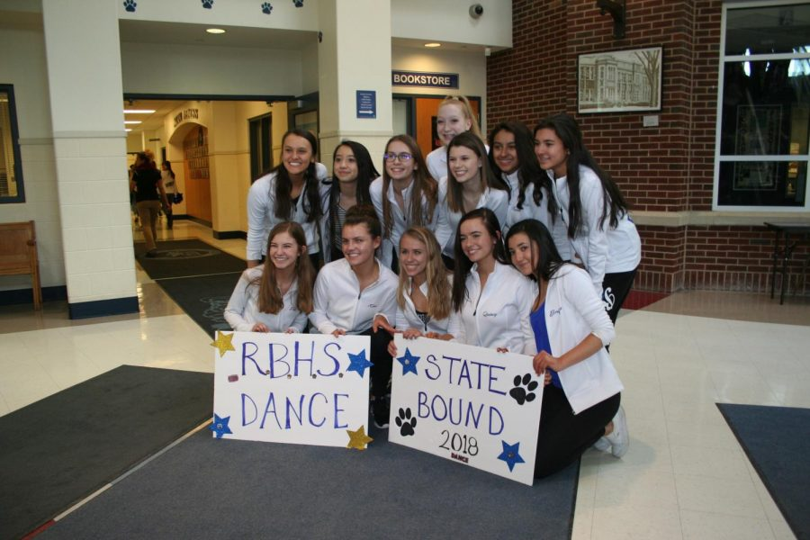Poms dances their way to State