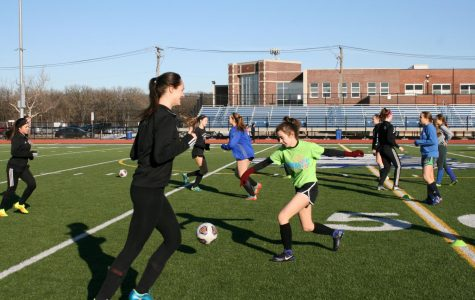 Varsity Girls' Soccer tryouts