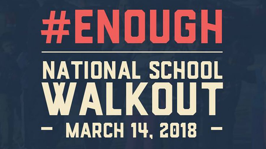 RBHS students plan, lead events for National Walk Out Day