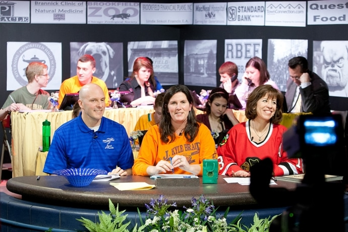 RBHS telethon. Photo courtesy of RBEF website.