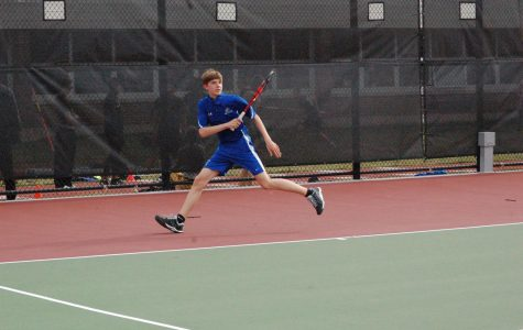 Boys' tennis shows potential