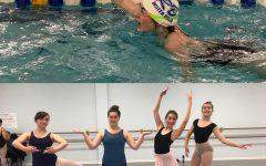 Sport Swap: Ballet versus swimming