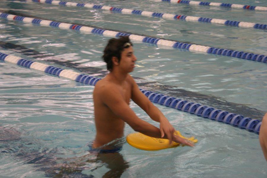 Michael Rosa in practice.