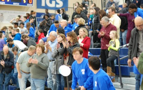 Spectators gather at a RB sporting event Photo by Lexi Soto