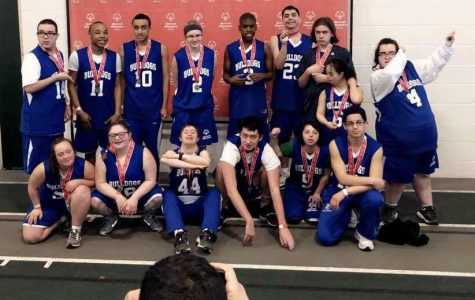 Special Olympics Team at State.