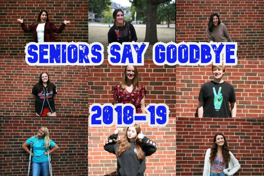 Seniors Say Goodbye