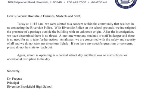 The email students received from Dr.Freytas.