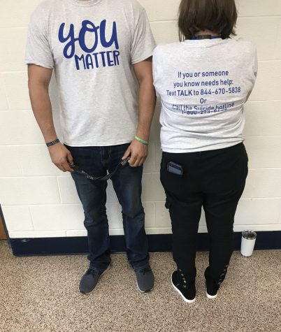 RBHS Promotes Suicide Awareness