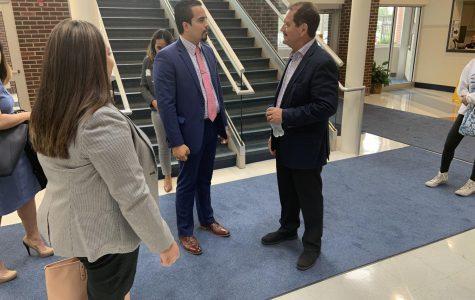 Congressman Chuy García visits RB