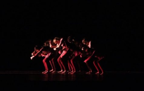 Dancers in the RDE show. Photo courtesy of Olivia Meyer.
