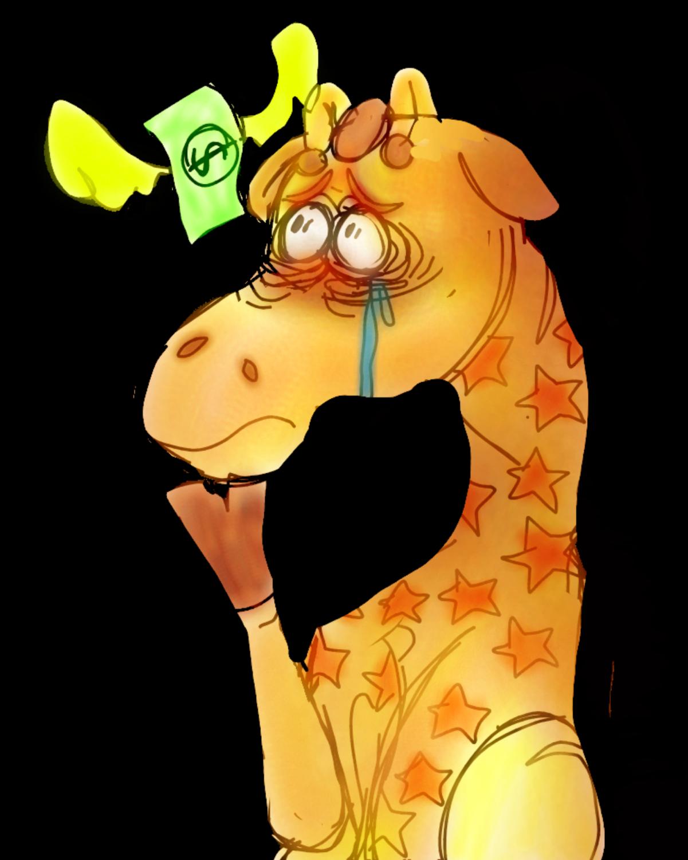 Toys R Us Jeffrey the Giraffe
