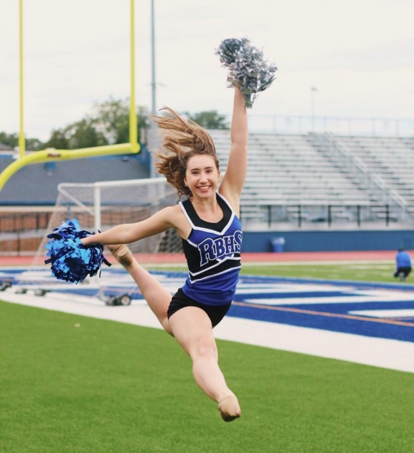 Olivia+Meyers+has+participated+in+Pom+Pons+since+her+freshman+year.